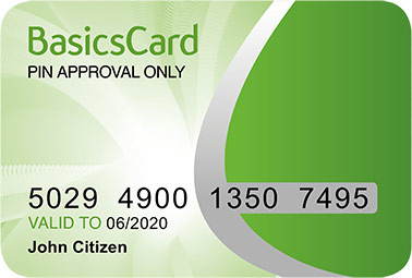 Centrelink Basics Card